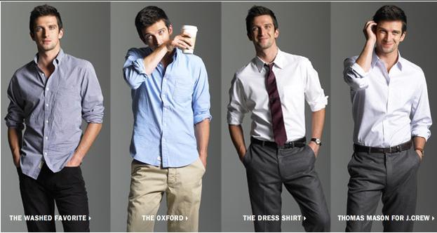 5c9a4f708 Solo Hombres  Códigos de Vestir en el Trabajo
