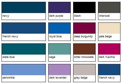Tendencia de verano algo azul la vida de serendipity for Paleta de grises para paredes
