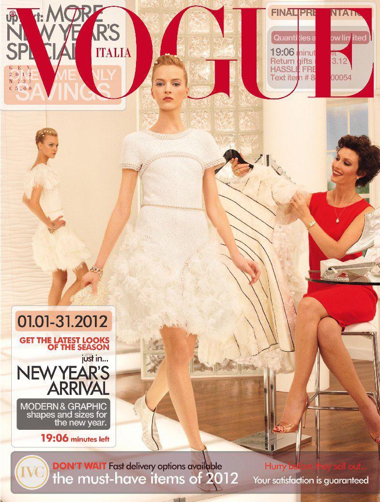 Daria-Strokous-Caroline-Trentini-by-Steven-Meisel-Vogue-Italia-January-2012