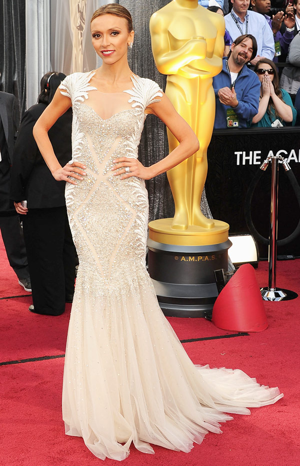 Guiliana Rancic Oscar 2012