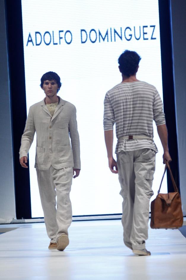 Adolfo domiguez lima fashion week 2012 la vida de for Adolfo dominguez plaza americas xalapa