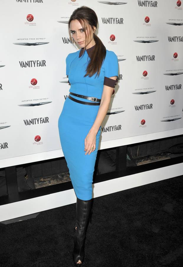 Victoria+Beckham+attends+the+Vanity+Fair+and+Chrysler+celebration+