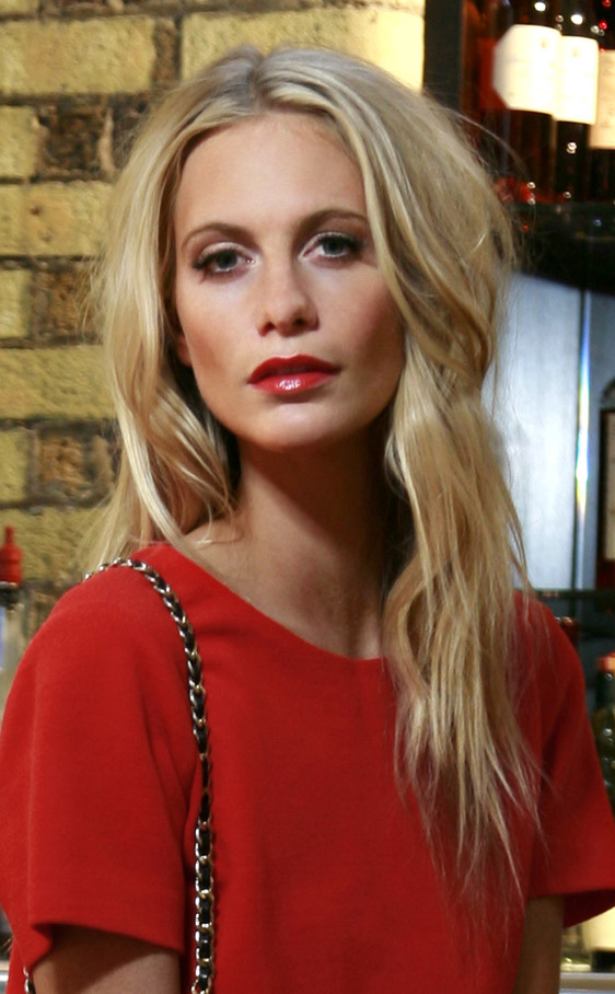 poppy_delevingne Red Dress