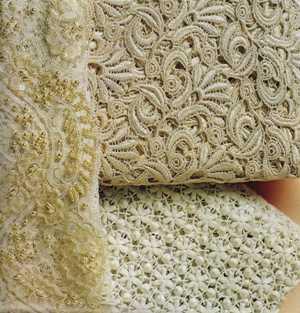 Telas para vestidos de novia con encaje