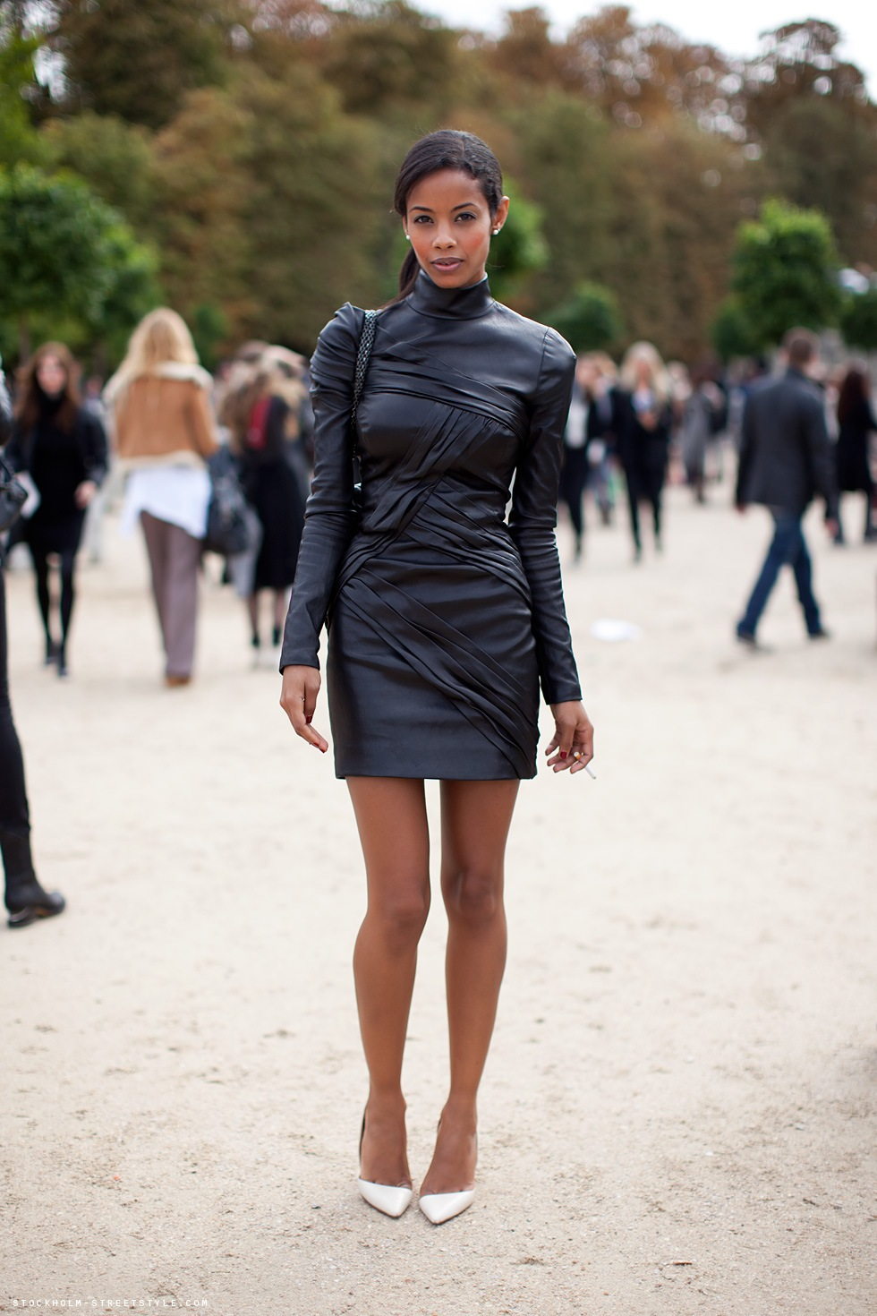 ultimate leather dress