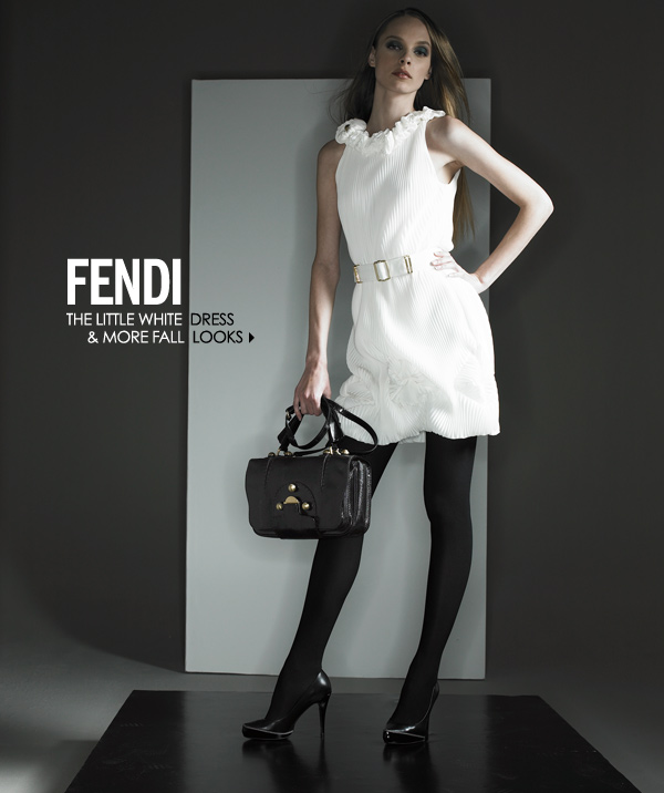Fendi Little White Dress