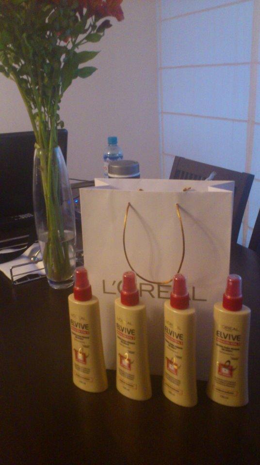 elvive repacion total spray