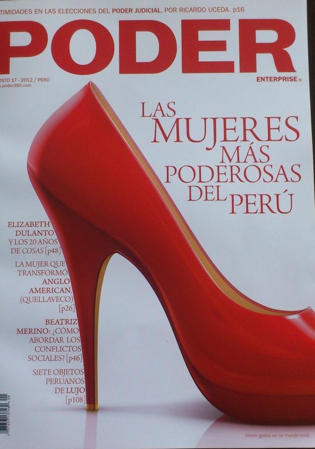 Revista Poder Agosto 2012 - Serendipity