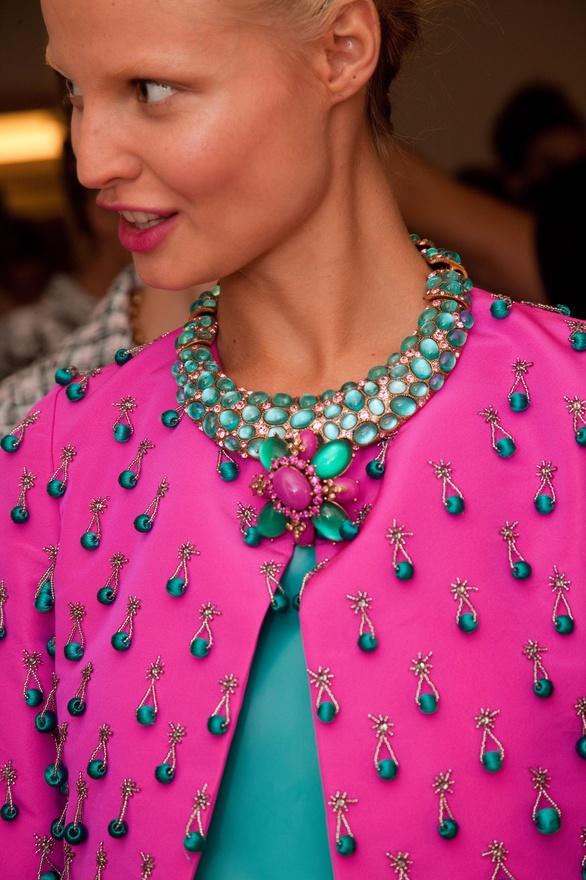 oscar de la renta SS 2013 necklace