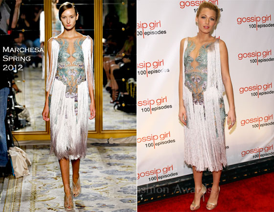 Blake-Lively-In-Marchesa-Gossip-Girl-Celebrates-100-Episodes