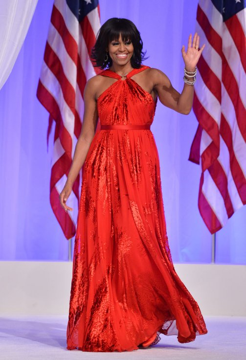 Michelle Obama Jason Wu 2013
