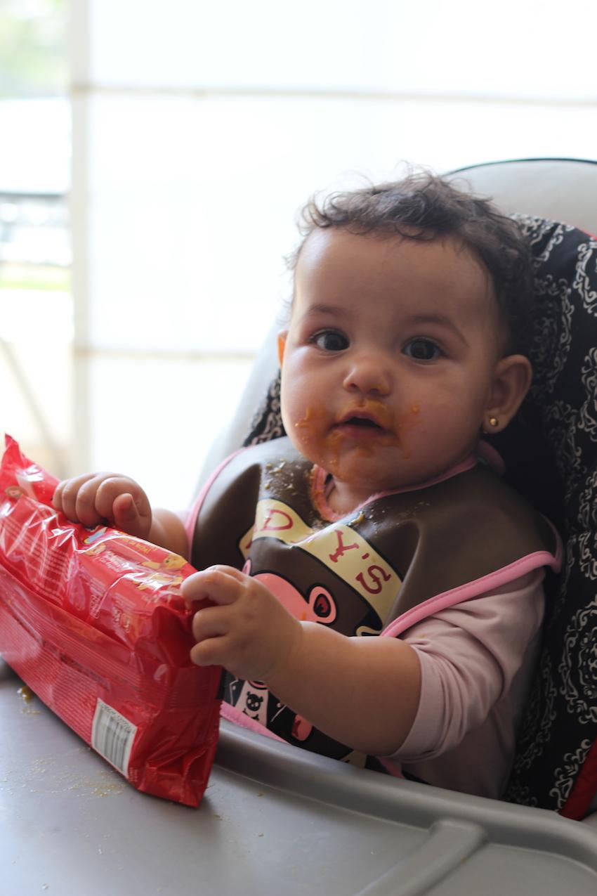 Las primeras papillas oh my la vida de serendipity - Papillas para bebes de 6 meses ...