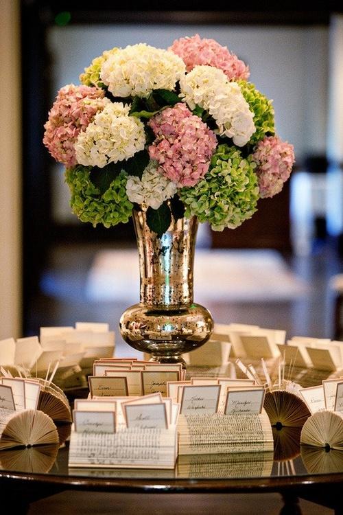 Lunes de decoraci n hortensias la vida de serendipity - Decoracion con hortensias ...