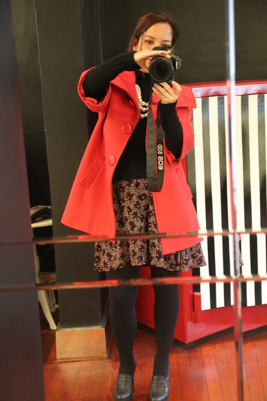 serendipity abrigo rojo