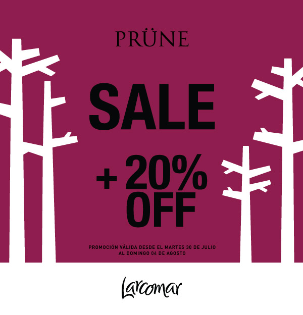 Prune SALE--20-off-Larcormar