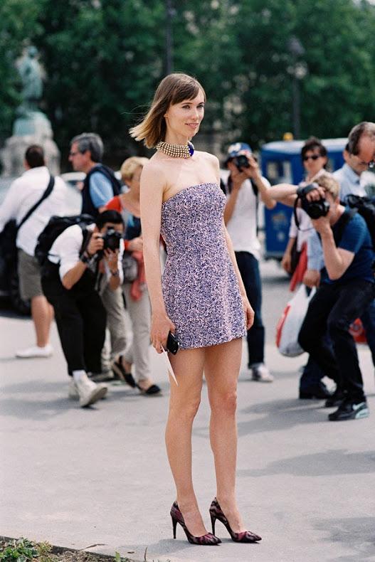 Anya Ziourova Paris Dior