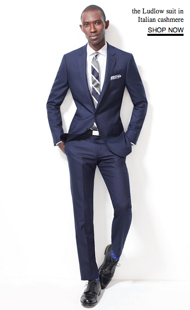 JCrew Ludlow Suit