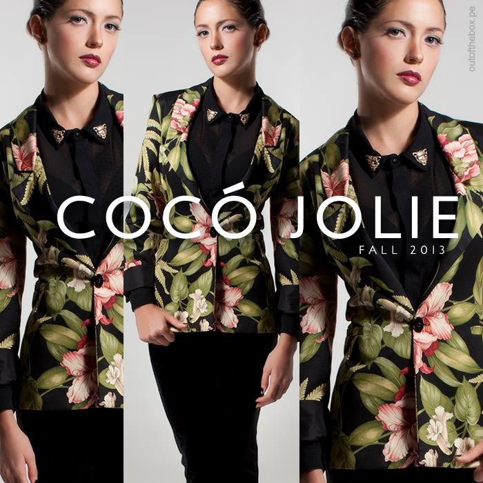 blazer floral coco jolie