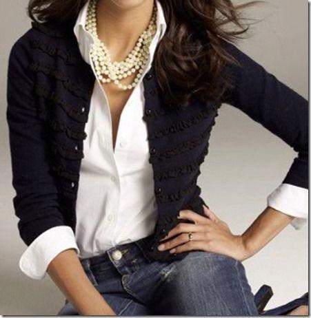 f7005c09ac36 Cómo llevar un collar de perlas