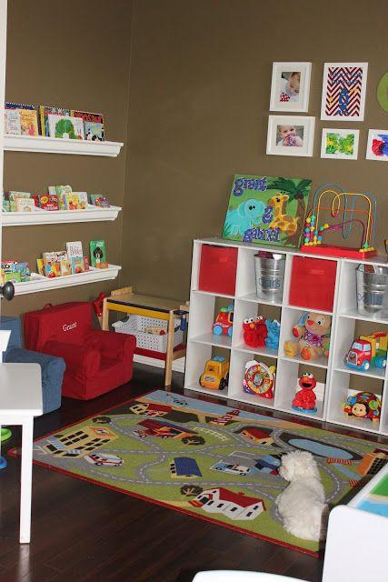 Lunes de decoración: cómo organizar el área de juego de los niños ...