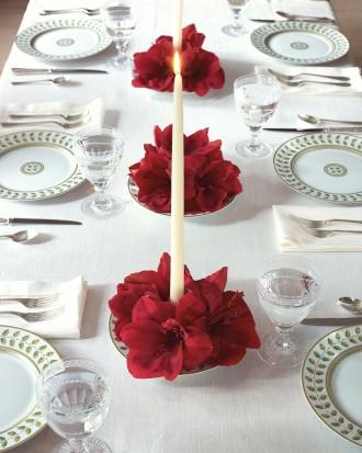 Cómo decorar una mesa navideña 6