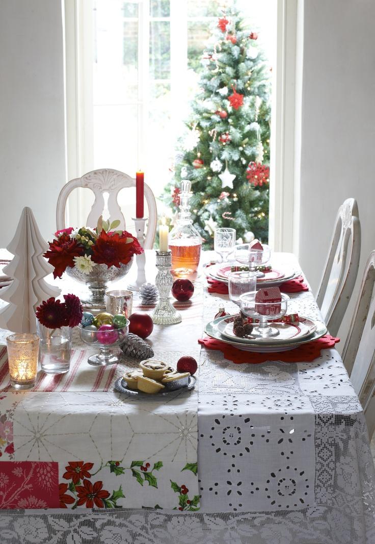 C mo poner una mesa navide a y m s la vida de serendipity for Como se pone la mesa