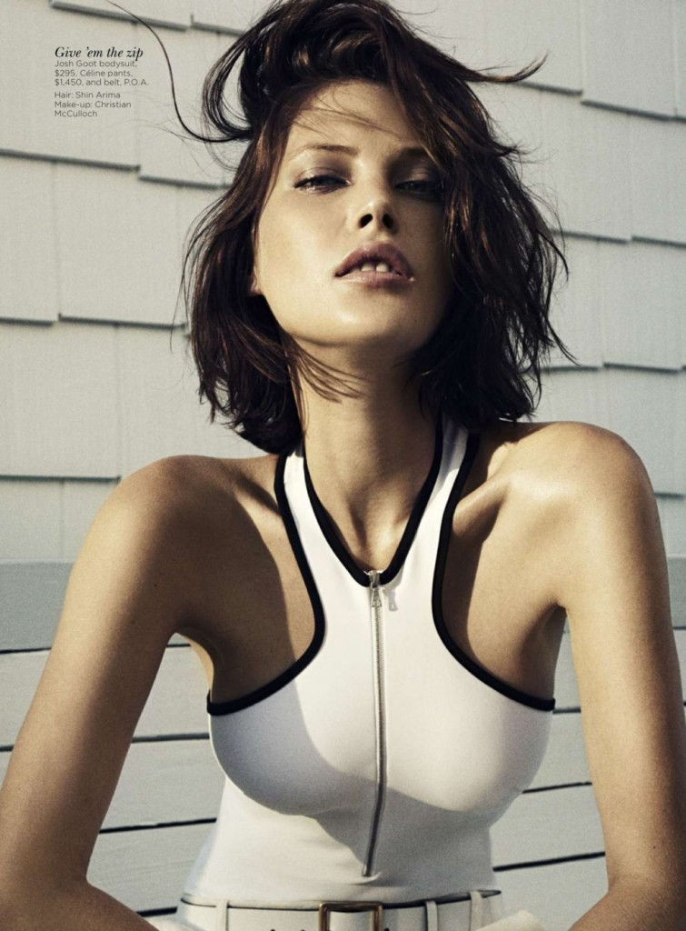 """Cool Cat"" - Catherine McNeil - Vogue Australia November 2012 - Benny Horne1"