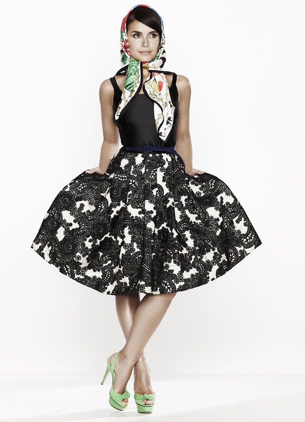 Oscar de la Renta for the outnet Miroslava Duma