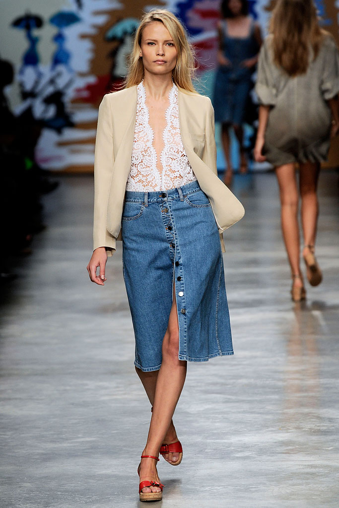 Stella McCartney Spring 2010 Denim Skirt