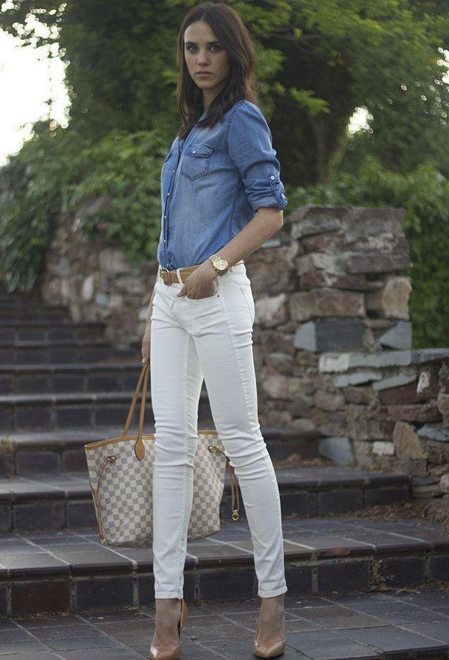 Jeans Blancos u00bfla hacemos o no? | La Vida de Serendipity