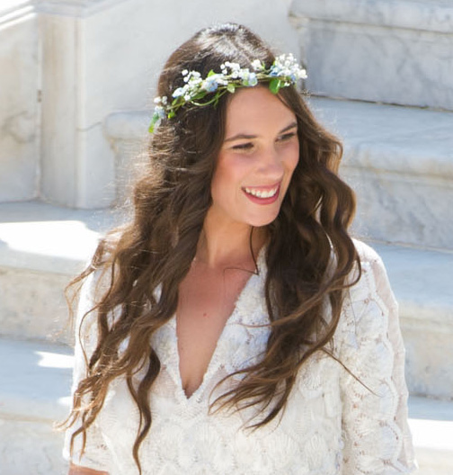 tatiana santo domingo wedding hair