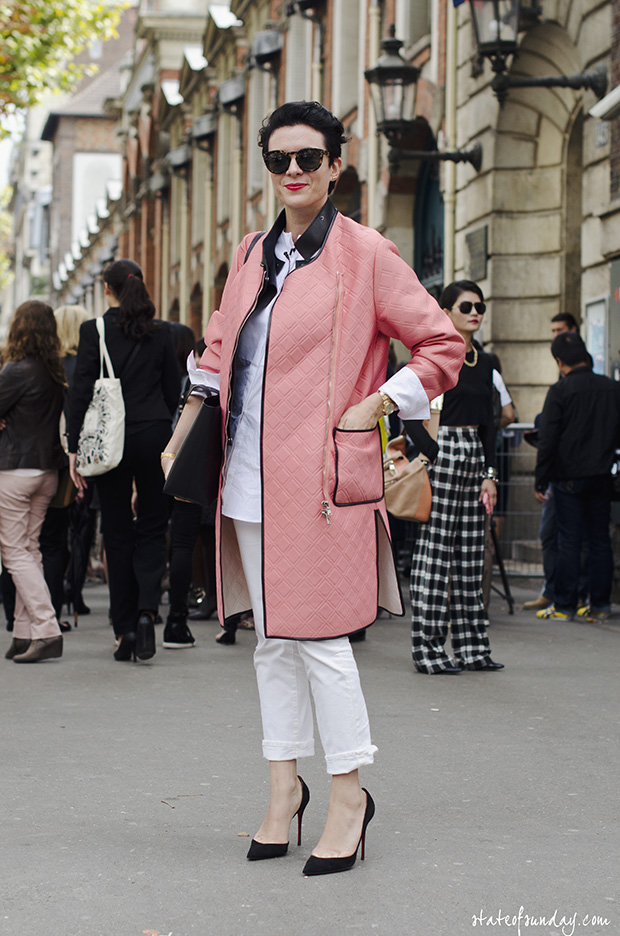 fashion trend coats 2014 Phillip lim Pink Coat
