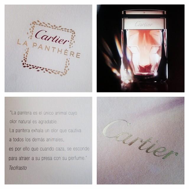Cartier - La Panthère Perfume 1