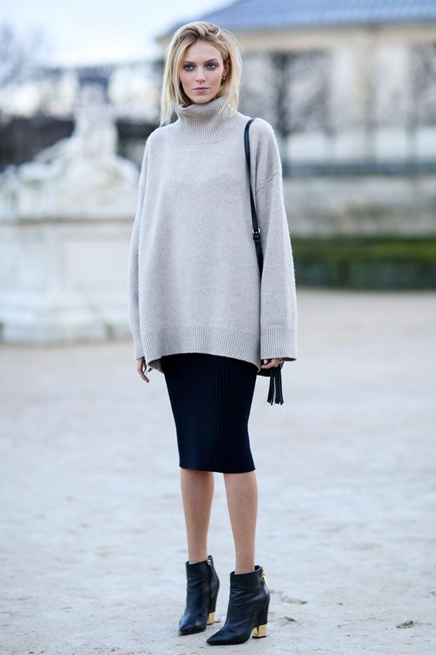 Anja Rubik Oversized Sweater