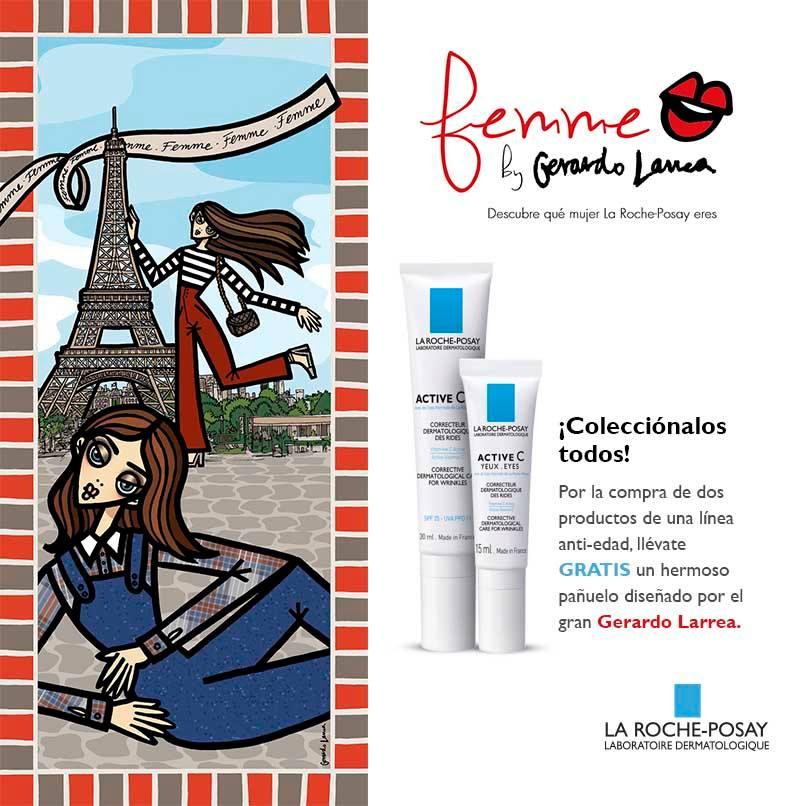 Gerardo Larrea para La Roche Posay