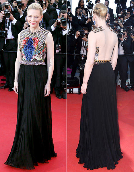 cate blanchett givenchy cannes 2014