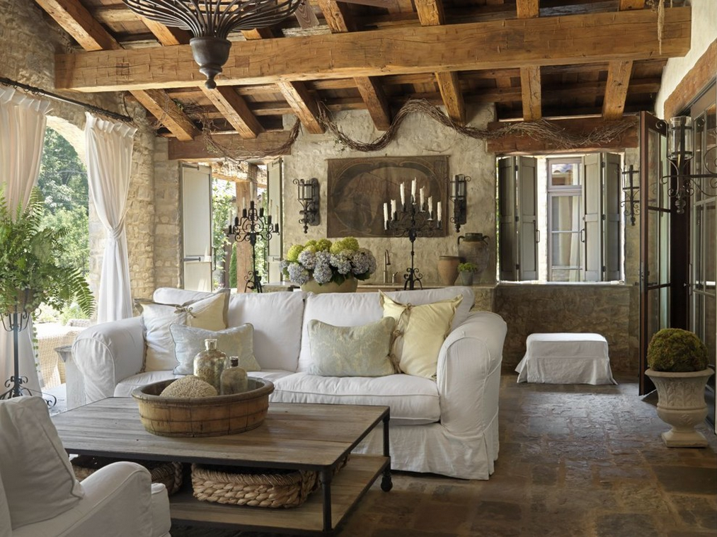 Lunes de decoraci n ese maravilloso sofa blanco la vida - Decoracion sofa blanco ...