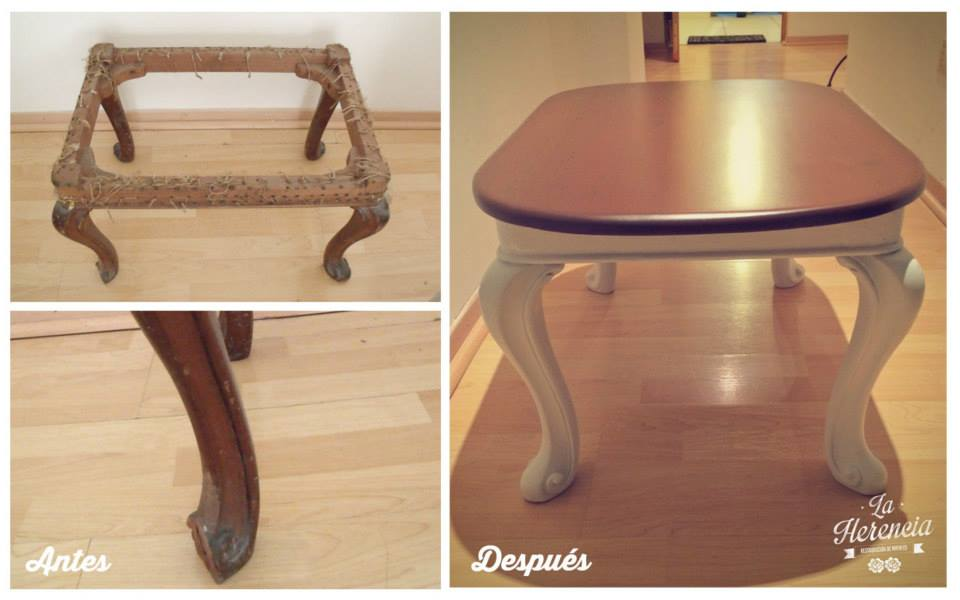 vintage furniture pintado al duco