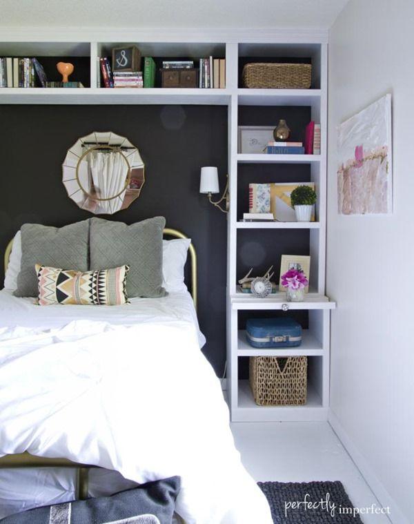 Lunes de decoraci n c mo organizar habitaciones peque as - Como distribuir una habitacion con dos camas ...