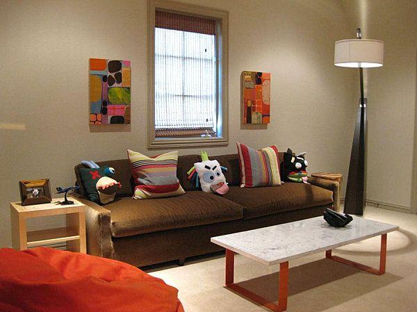 Lunes de decoraci n c mo decorar una habitaci n con - Color mandarina en paredes ...