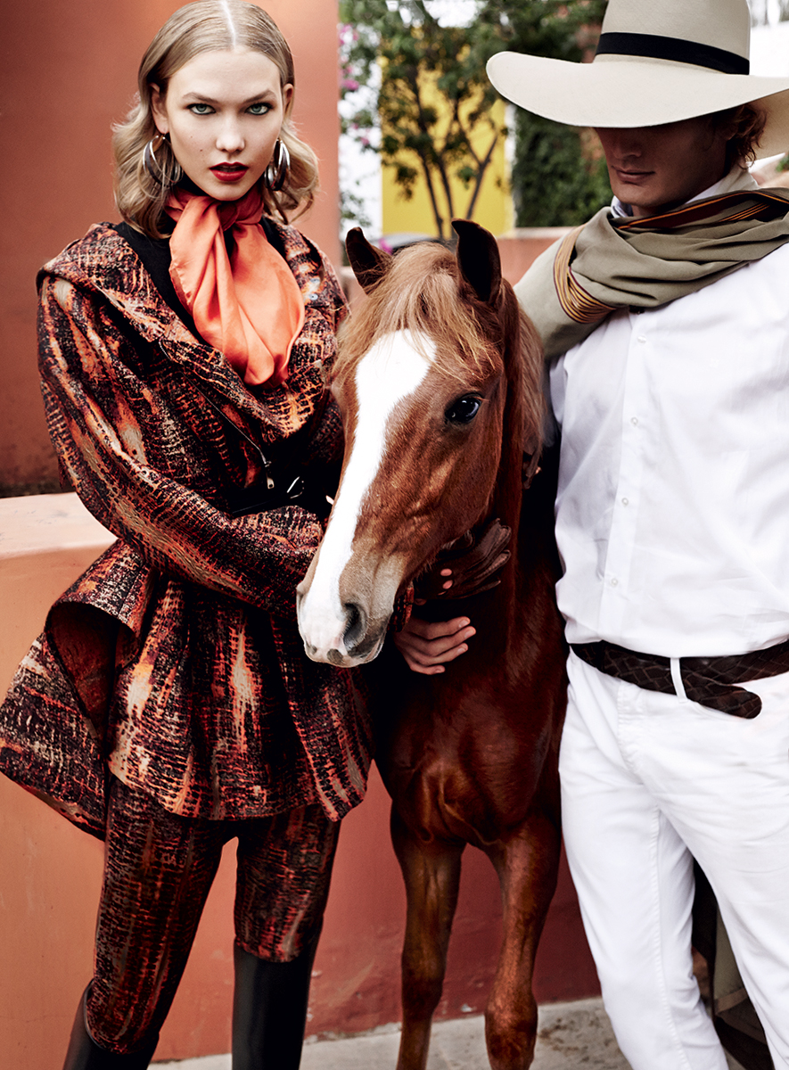 karlie kloss in peru vogue magazine 2