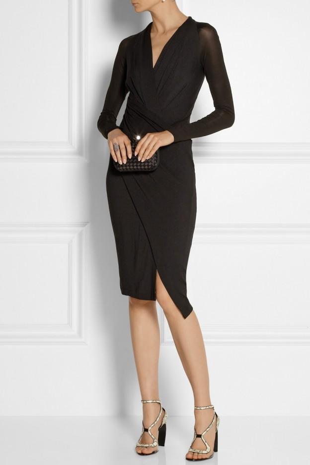 Donna Karan Black cocktail dress