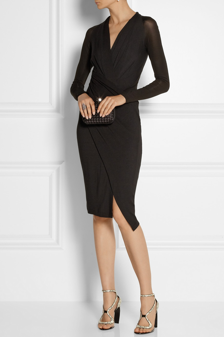 Donna Karan Black cocktail dress
