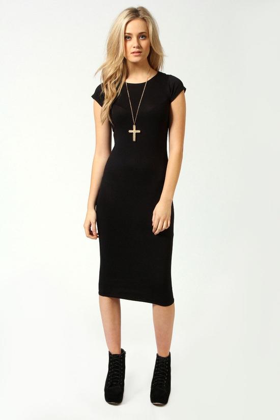 midi dress basic