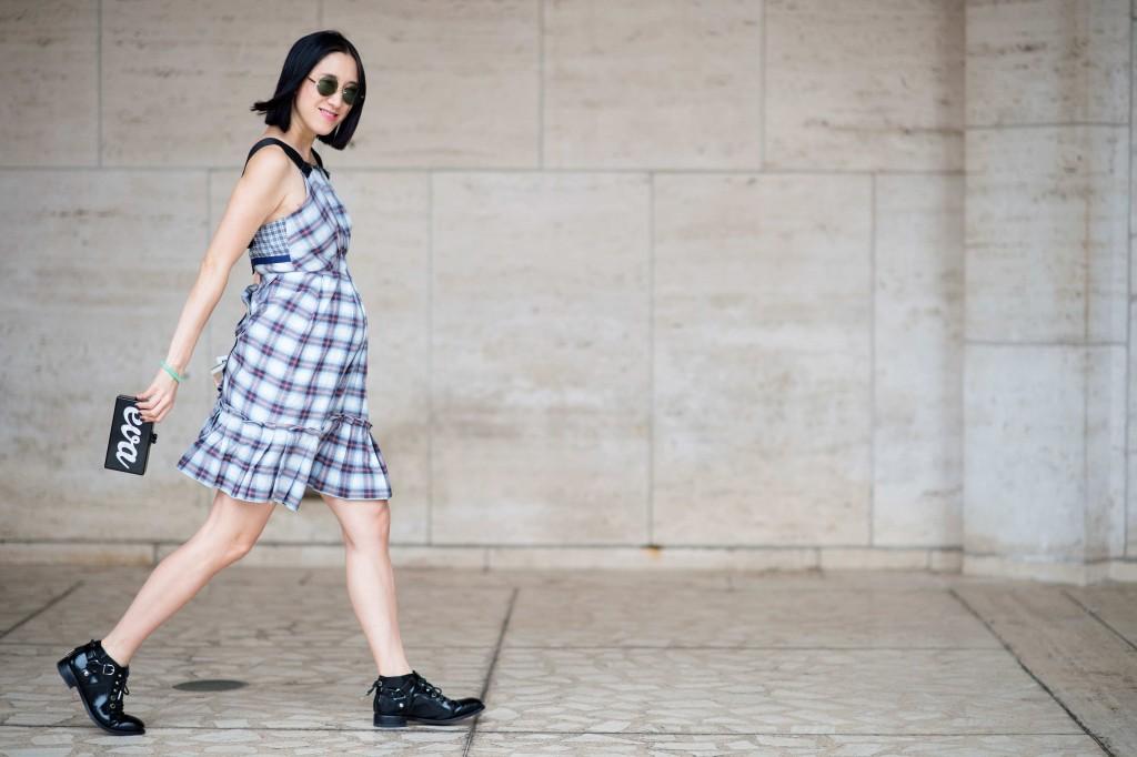 eva chen pregnant style