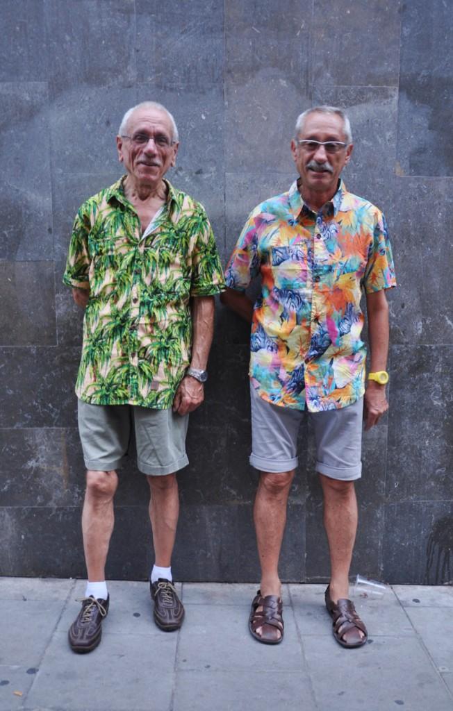 print shirt men street style
