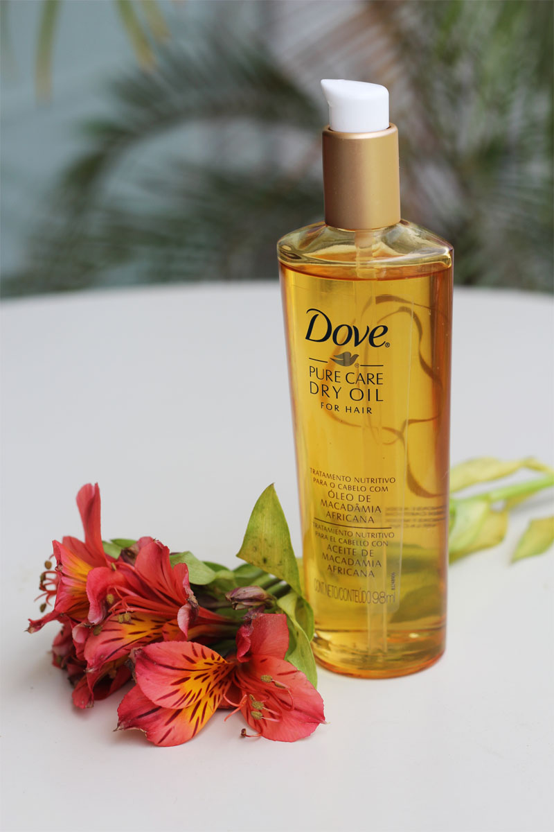 serendipity dove pure care dry oil