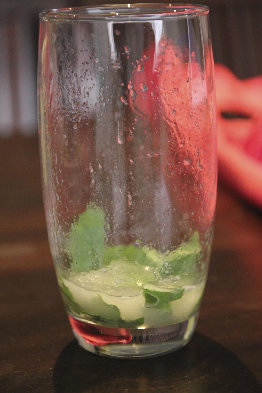 hojas de menta receta mojito