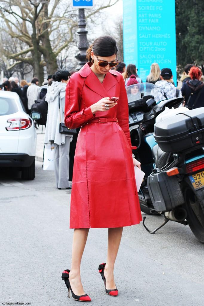 giovanna battaglia all red style