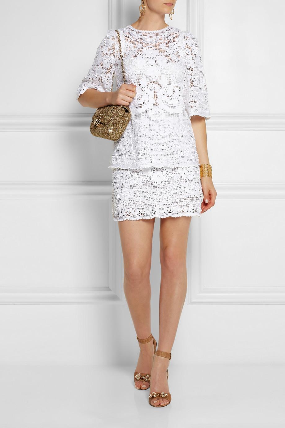 miniskirt lace